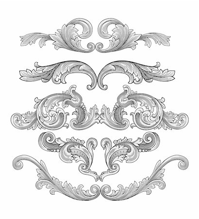 filigree tree - Design elements vector Stock Photo - Budget Royalty-Free & Subscription, Code: 400-04135028