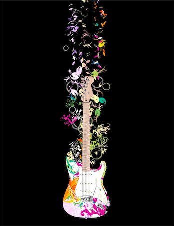 guitar Stock Photo - Budget Royalty-Free & Subscription, Code: 400-04145726