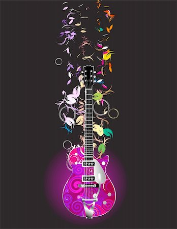 guitar Stock Photo - Budget Royalty-Free & Subscription, Code: 400-04145721