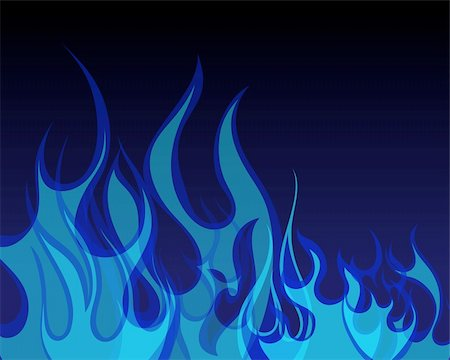 Inferno fire vector background for design use Stock Photo - Budget Royalty-Free & Subscription, Code: 400-04143068