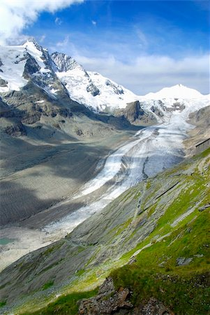 franxyz - Famous German glacier Kaiser Franz is slowly melting due to global warming Stock Photo - Budget Royalty-Free & Subscription, Code: 400-04158944