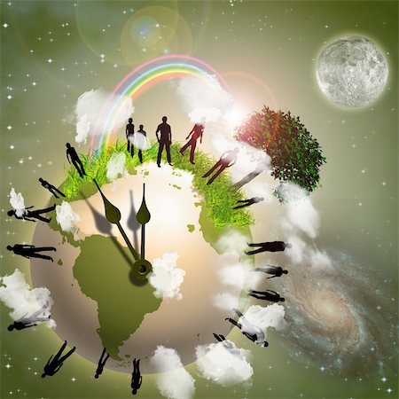 rolffimages (artist) - Earth Eco Time Stock Photo - Budget Royalty-Free & Subscription, Code: 400-04163892