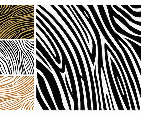 Background texture of zebra skin. Use this zebra print for your unique design! Stock Photo - Budget Royalty-Free & Subscription, Code: 400-04174749