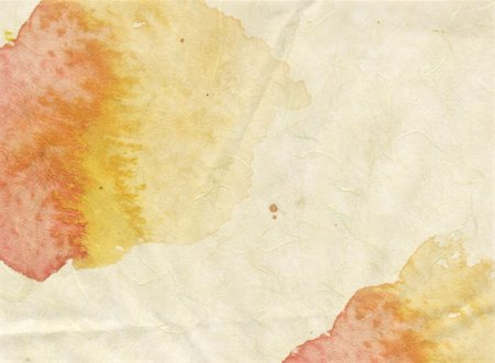 spilling blood texture - Nice grunge yellow texture in watercolor splatters and spills on paper for use as a background or texture Stock Photo - Budget Royalty-Free & Subscription, Code: 400-04179364