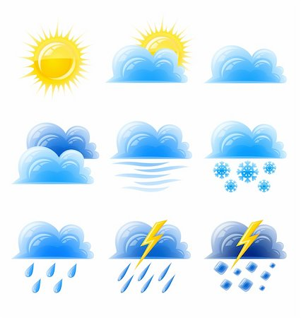 cloud gold sun set weather climatic icon vector illustration isolated on white background Stock Photo - Budget Royalty-Free & Subscription, Code: 400-04172224