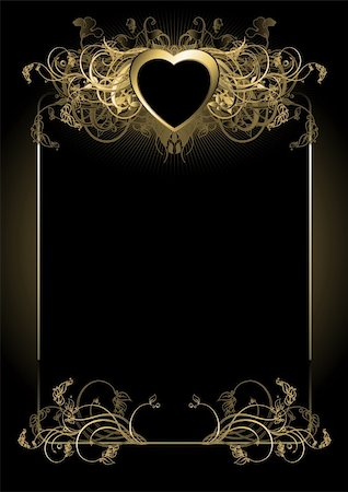 ornate frame, this illustration may be use as designer work Stock Photo - Budget Royalty-Free & Subscription, Code: 400-04173304