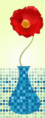 simsearch:400-04872199,k - vector illustration of a cute poppy Stock Photo - Budget Royalty-Free & Subscription, Code: 400-04184706