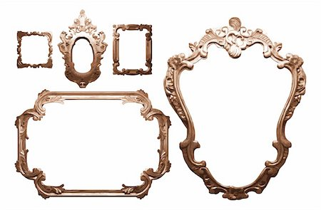simsearch:400-04872199,k - vintage frame. made in vector Stock Photo - Budget Royalty-Free & Subscription, Code: 400-04195102