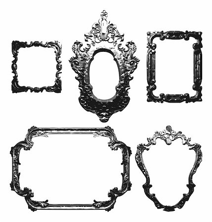 simsearch:400-04872199,k - vintage frame. made in vector Stock Photo - Budget Royalty-Free & Subscription, Code: 400-04195103