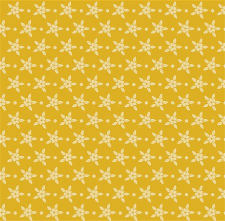 simsearch:400-05235216,k - drawing of beige flower in a yellow background Stock Photo - Budget Royalty-Free & Subscription, Code: 400-04201342
