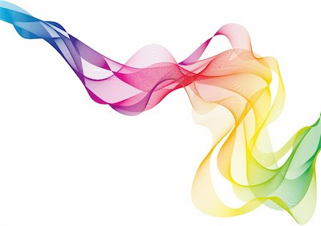 abstract colorful smoke, vector background Stock Photo - Budget Royalty-Free & Subscription, Code: 400-04203783
