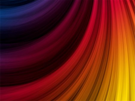 rainbow smoke background - Vector - Abstract Colorful Waves on Black Background Stock Photo - Budget Royalty-Free & Subscription, Code: 400-04211583
