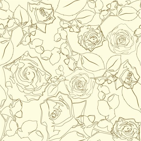 simsearch:400-04597082,k - seamless floral texture,   this  illustration may be useful  as designer work Stock Photo - Budget Royalty-Free & Subscription, Code: 400-04225804