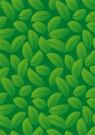 simsearch:400-04765926,k - Seamless dark green leaf background - vector include pattern source - easy to modify Stock Photo - Budget Royalty-Free & Subscription, Code: 400-04227685