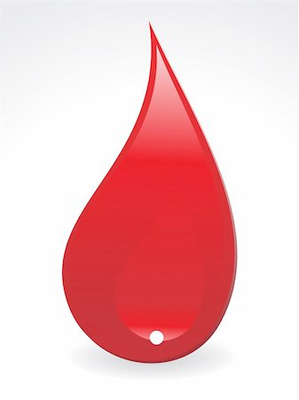 abstract  blood drop  with gray background vector illustration Stock Photo - Budget Royalty-Free & Subscription, Code: 400-04221672