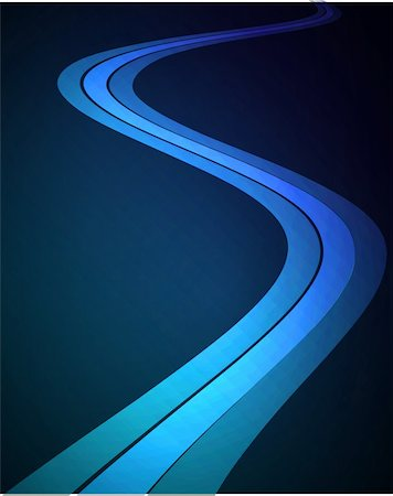 Dark Blue abstract glowing background EPS 10 vector file included Stock Photo - Budget Royalty-Free & Subscription, Code: 400-04223259