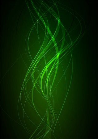 Dark green abstract glowing background EPS 10 vector file included Stock Photo - Budget Royalty-Free & Subscription, Code: 400-04223272
