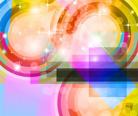 Light Sparkle Background with Rainbow Gradient Stock Photo - Budget Royalty-Free & Subscription, Code: 400-04235547