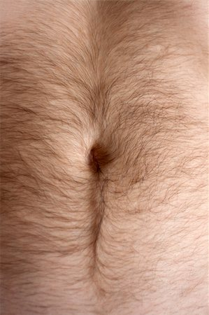Male hairs belly, bellybutton in light from window Stock Photo - Budget Royalty-Free & Subscription, Code: 400-04236655