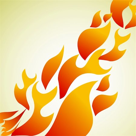 spark vector - illustration of fire background Stock Photo - Budget Royalty-Free & Subscription, Code: 400-04237272
