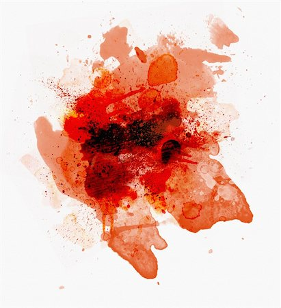 Blood spots isolated over the white background Stock Photo - Budget Royalty-Free & Subscription, Code: 400-04239612