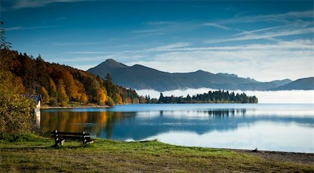 An image of the Walchensee in Bavaria Germany Stock Photo - Budget Royalty-Free & Subscription, Code: 400-04255167