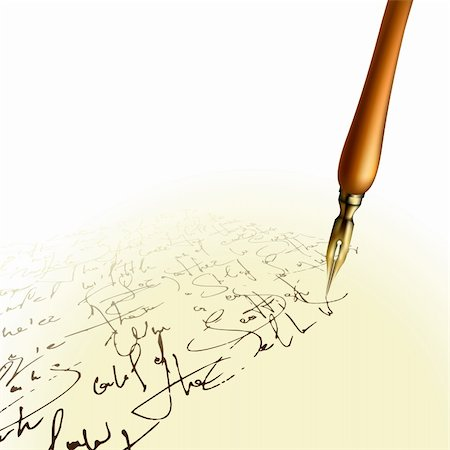 pen background,  this illustration may be useful as designer work Stock Photo - Budget Royalty-Free & Subscription, Code: 400-04259403