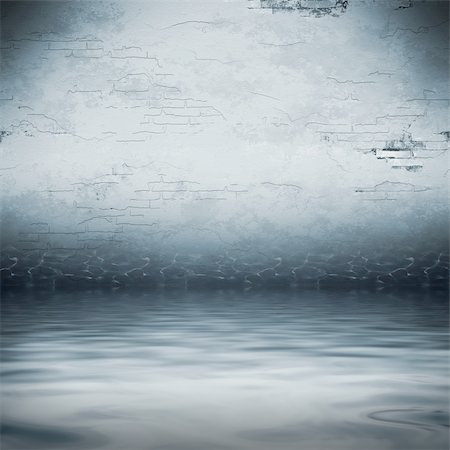 flooded homes - An image of a dark cellar under water Stock Photo - Budget Royalty-Free & Subscription, Code: 400-04265017