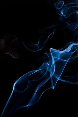 smoke magic abstract - wisp of smoke on black Stock Photo - Budget Royalty-Free & Subscription, Code: 400-04265067