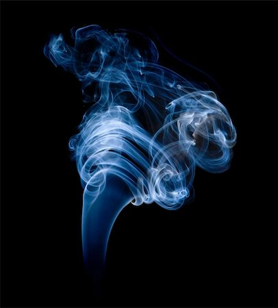 smoke magic abstract - wisp of smoke on black; Stock Photo - Budget Royalty-Free & Subscription, Code: 400-04265068
