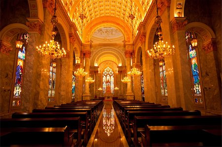 Sanctuary Church, where faith and religious rituals. Stock Photo - Budget Royalty-Free & Subscription, Code: 400-04260137