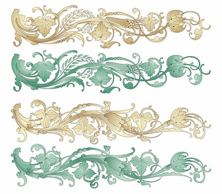 filigree tree - Design element vector Stock Photo - Budget Royalty-Free & Subscription, Code: 400-04277107