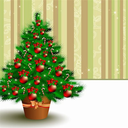 christmas background,  this illustration may be useful as designer work Stock Photo - Budget Royalty-Free & Subscription, Code: 400-04271002