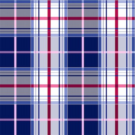 elakwasniewski (artist) - Blue and pink plaid fabric textile pattern, seamless checkered vector pattern, repeat design. Stock Photo - Budget Royalty-Free & Subscription, Code: 400-04284565
