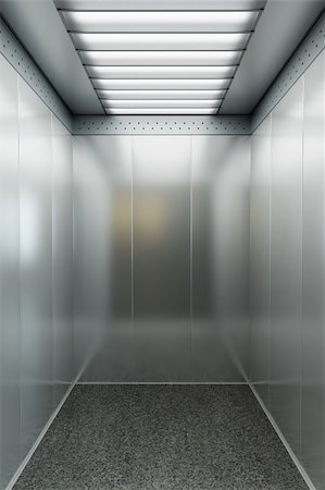 modern elevator with open doors Stock Photo - Budget Royalty-Free & Subscription, Code: 400-04285452