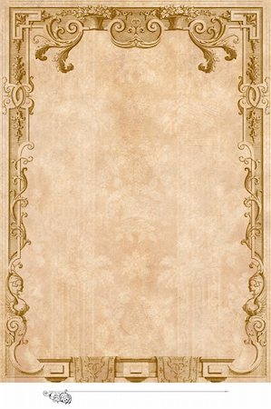 Victorian background with engraving frame. Stock Photo - Budget Royalty-Free & Subscription, Code: 400-04290080