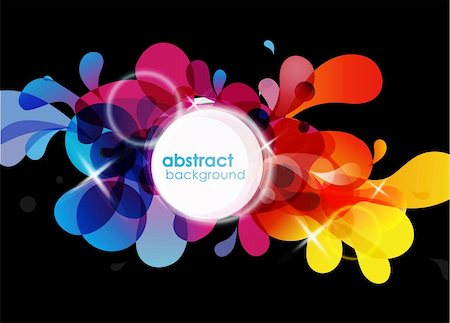 Abstract colored background. Stock Photo - Budget Royalty-Free & Subscription, Code: 400-04305022