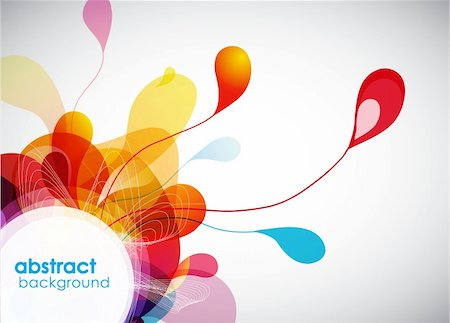 Abstract colored background. Stock Photo - Budget Royalty-Free & Subscription, Code: 400-04305072