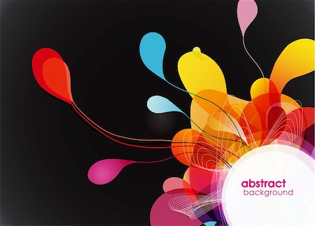 Abstract colored background. Stock Photo - Budget Royalty-Free & Subscription, Code: 400-04305088