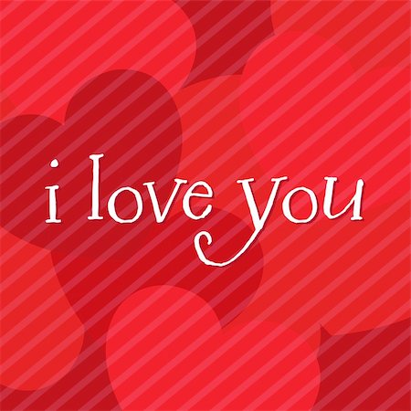 Valentines Day Card With Text, Vector Illustration Stock Photo - Budget Royalty-Free & Subscription, Code: 400-04314392
