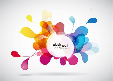 Abstract colored background. Stock Photo - Budget Royalty-Free & Subscription, Code: 400-04314470