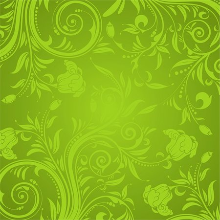 filigree - Decorative Floral texture for design, vector illustration Stock Photo - Budget Royalty-Free & Subscription, Code: 400-04318471