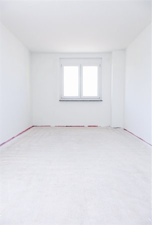 Empty room ready for renovation or moving in or out Stock Photo - Budget Royalty-Free & Subscription, Code: 400-04318635