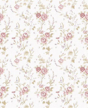Rose bouquet design Seamless pattern with White background Stock Photo - Budget Royalty-Free & Subscription, Code: 400-04310157