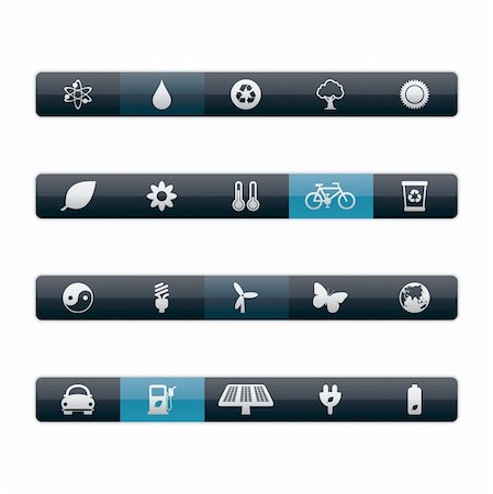 Vector Menu Bars in EPS 8 and JPG. Stock Photo - Budget Royalty-Free & Subscription, Code: 400-04324809