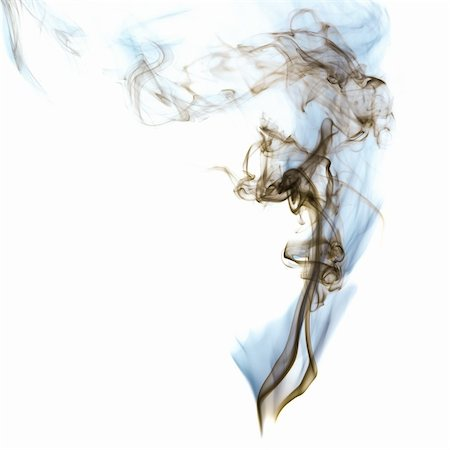 smoke magic abstract - The abstract figure of the smoke on white background Stock Photo - Budget Royalty-Free & Subscription, Code: 400-04332303