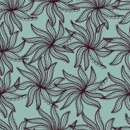 simsearch:400-04765926,k - Floral seamless pattern in vector Stock Photo - Budget Royalty-Free & Subscription, Code: 400-04333947