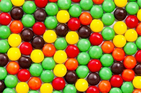Background of colorful candies coated chocolate sweets Stock Photo - Budget Royalty-Free & Subscription, Code: 400-04333999