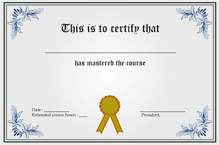 Degree certificate frames Photos Page 1 Masterfile – Degree Certificate Template
