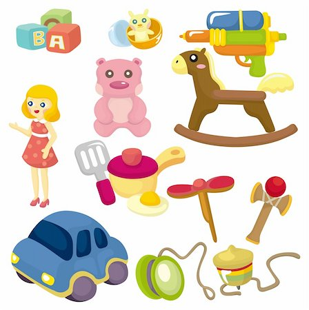 cartoon baby toy icon Stock Photo - Budget Royalty-Free & Subscription, Code: 400-04355492
